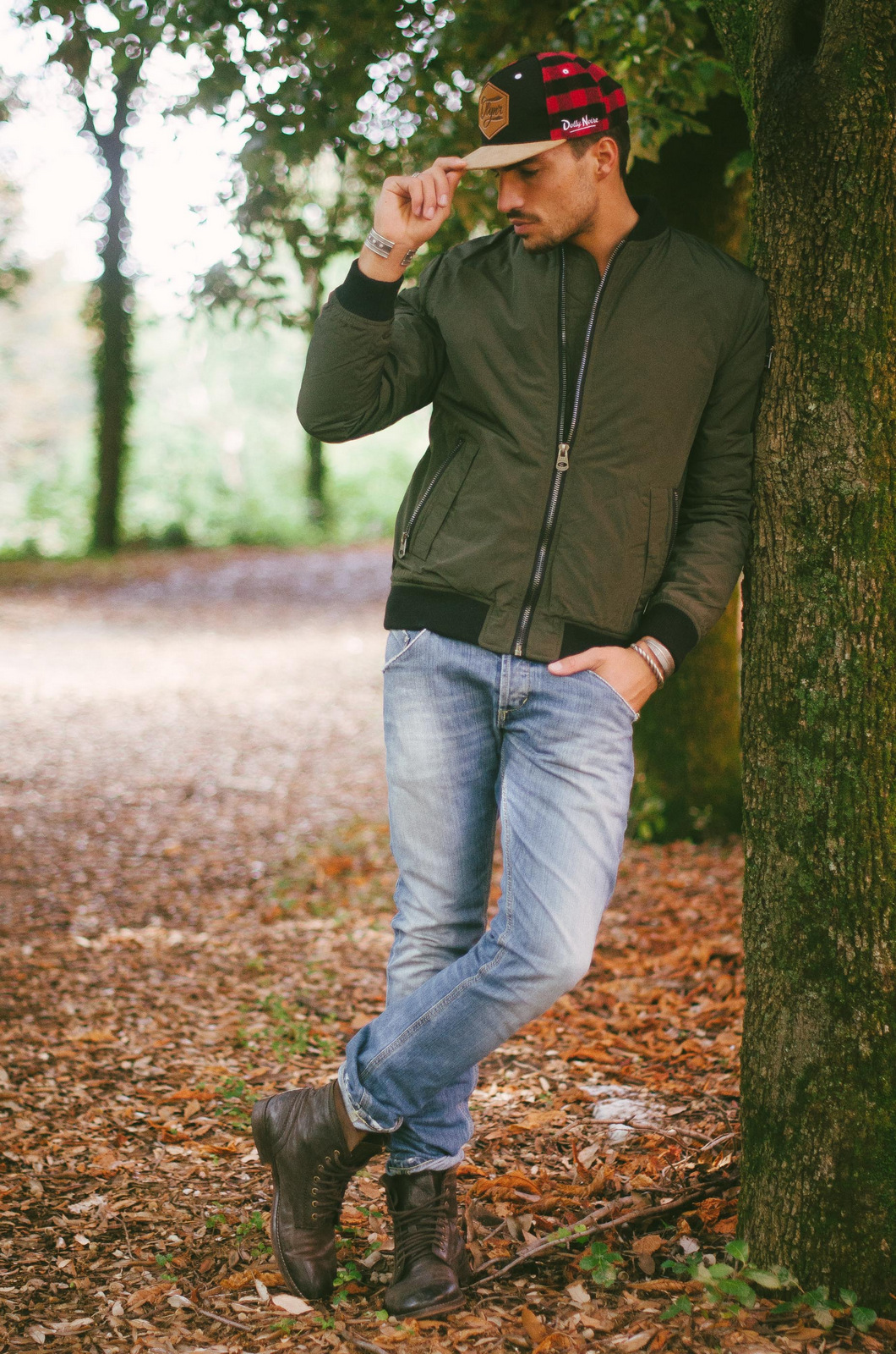 Green Jacket Outfit