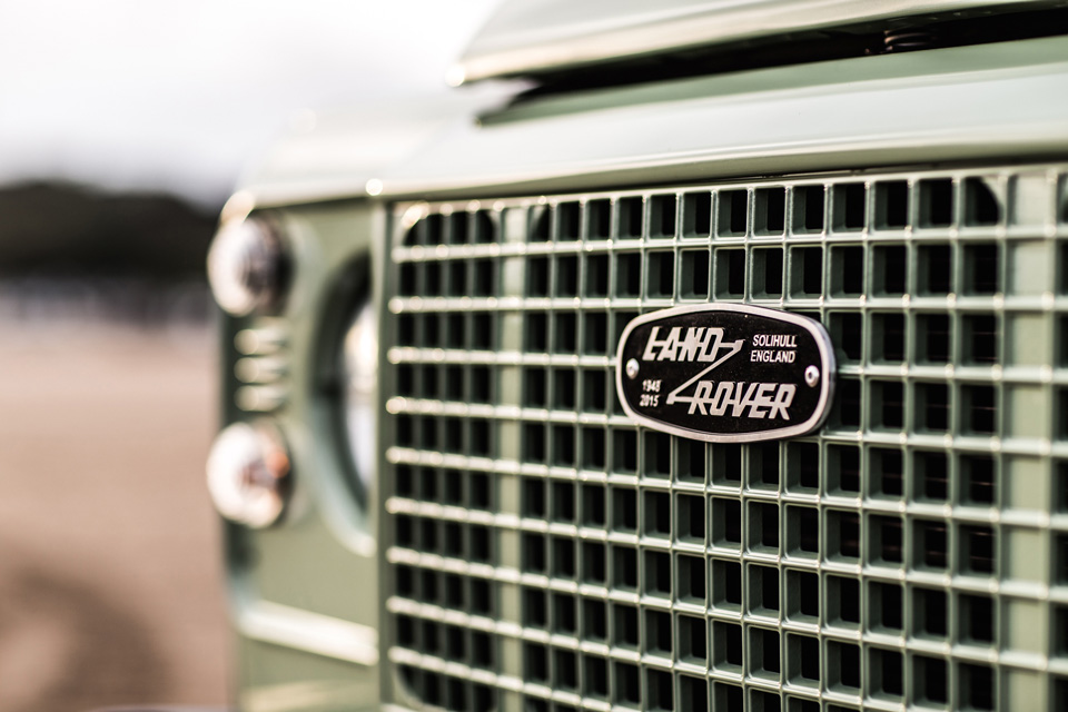 Land Rover Celebration series