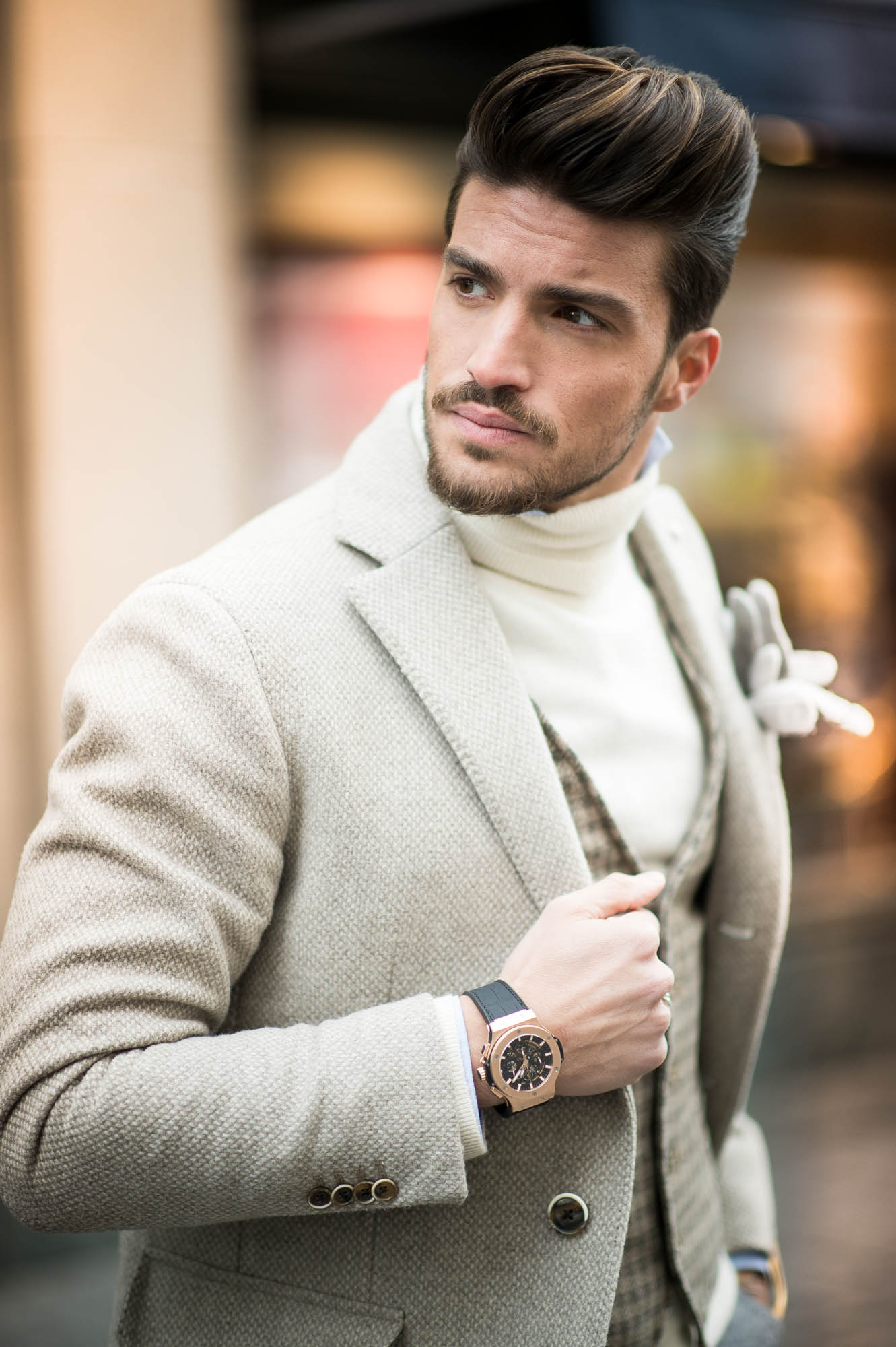 HUBLOT Big Bang Rose Gold Mariano DI Vaio