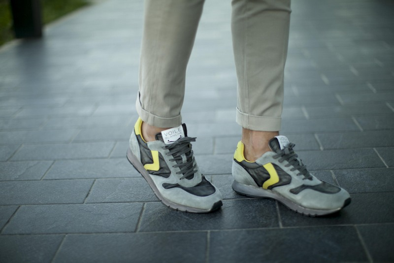 Voile Blanche Sneakers On Mdv Style