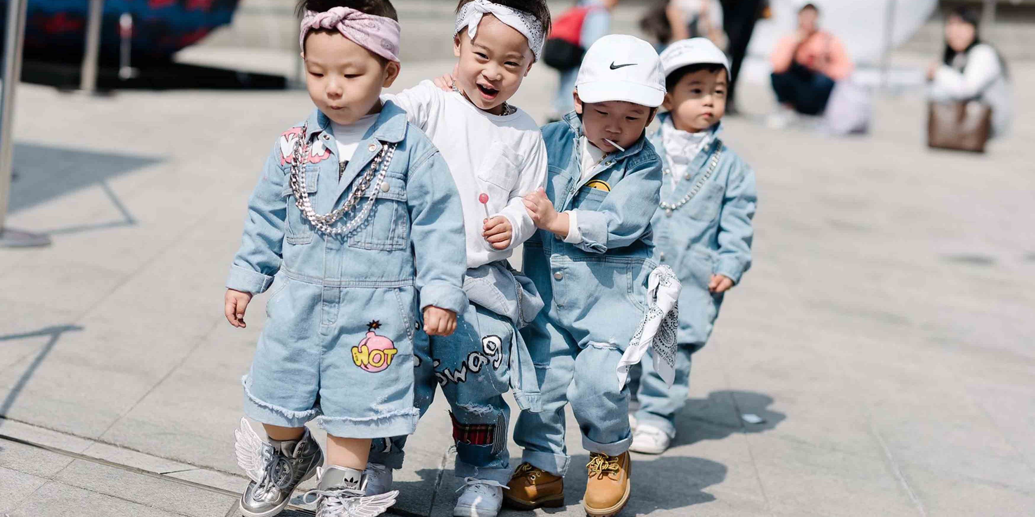 Baby Street Style In Seoul