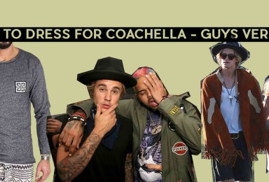 HOW TO DRESS FOR COACHELLA GUYS VERSION