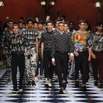 GOOD MUSIC IS WELL DRESSED – DOLCE & GABBANA FASHION SHOW S/S 2017 IN MILAN