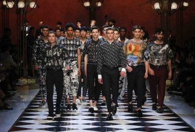 GOOD MUSIC IS WELL DRESSED - DOLCE & GABBANA FASHION SHOW S/S 2017 IN MILAN