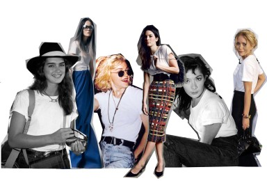 HOW TO WEAR THE WHITE T-SHIRT - TRENDS GUIDE