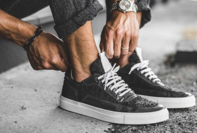 THE GENTLEMEN'S SNEAKER BY MARIANO DI VAIO